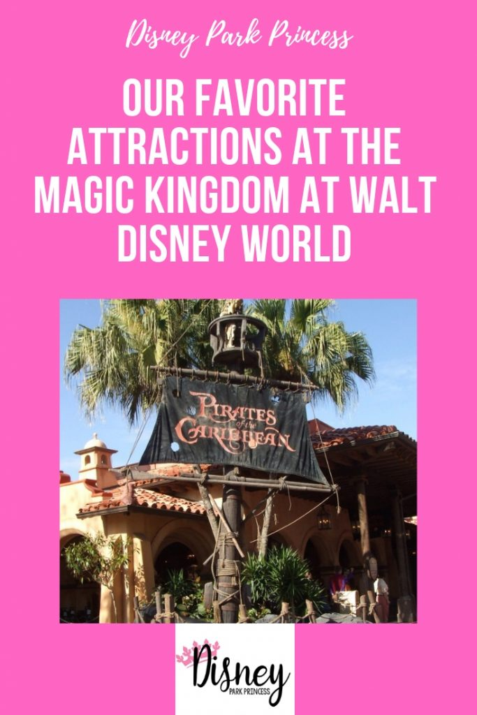 Our Favorite Attractions at the Magic Kingdom at Walt Disney World