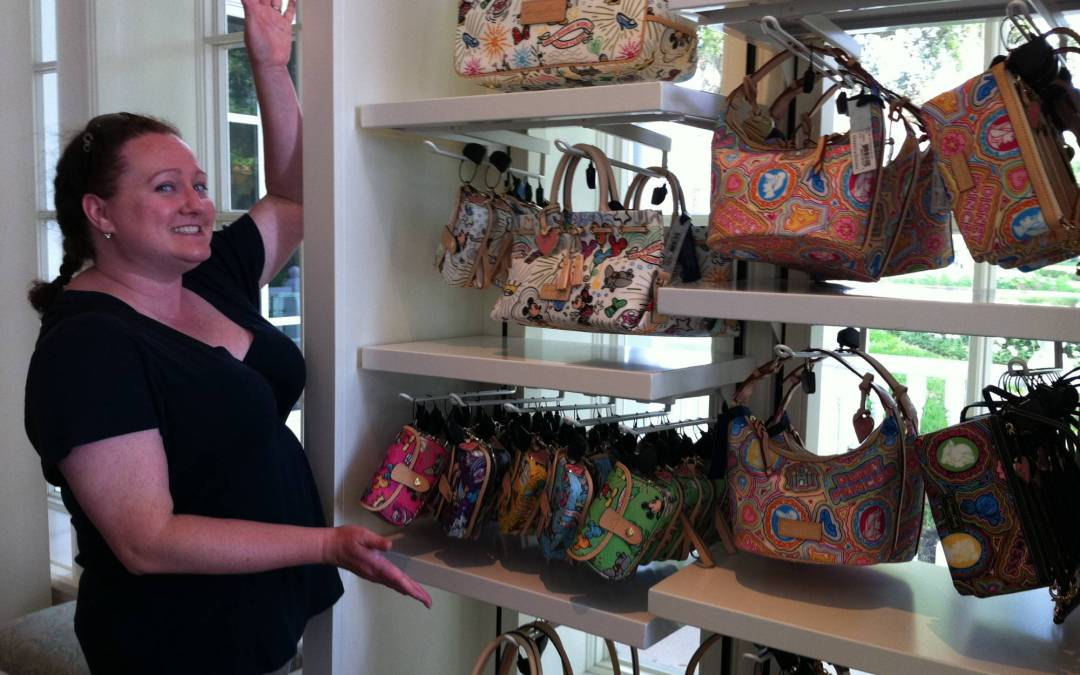My Favorite Souvenir – Disney Dooney & Bourke Handbags!