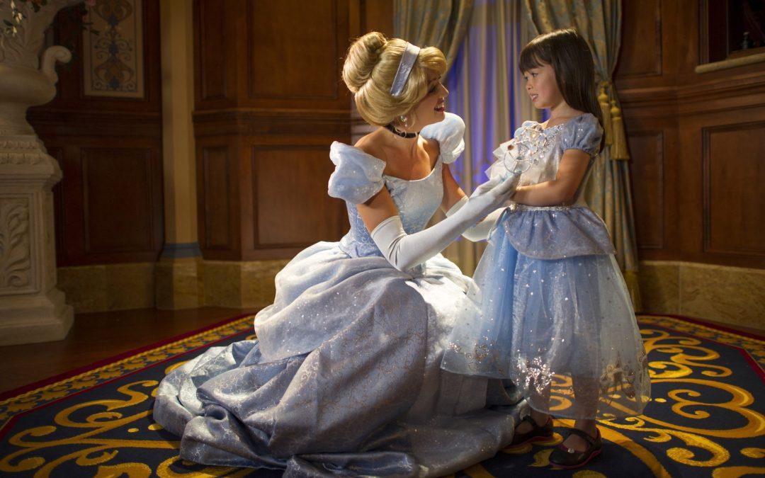 Cinderella Princess Fairytale Hall walt disney world