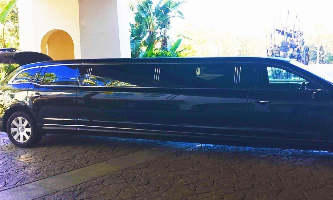 a stretch limousine