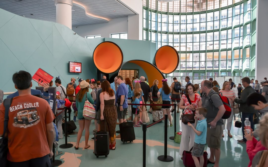 Disney Cruise Line – What to Expect When You Arrive at the Port on Embarkation Day