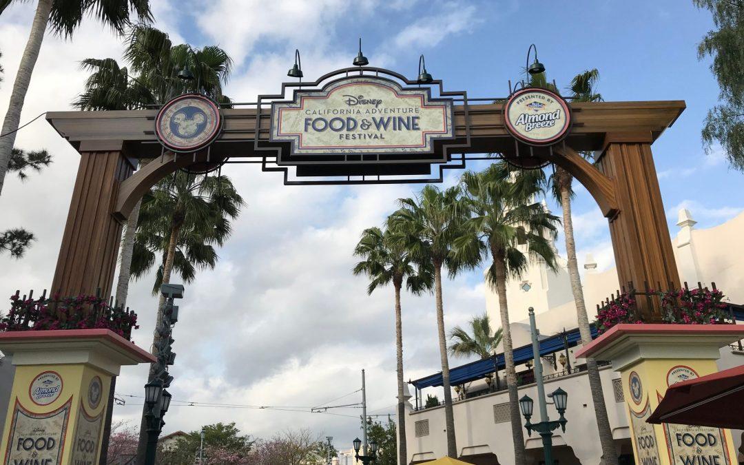 Tasting My Way Around Disney's California Adventure Food & Wine Festival