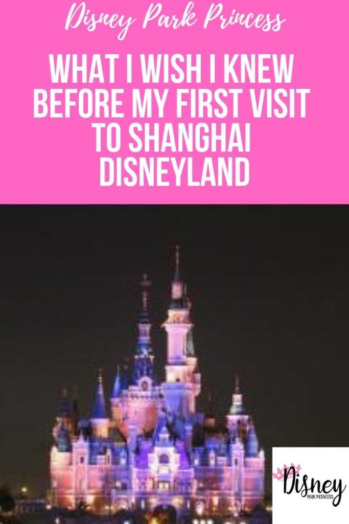 What I wish I knew before my first visit to Shanghai Disneyland #ShanghaiDisneyland