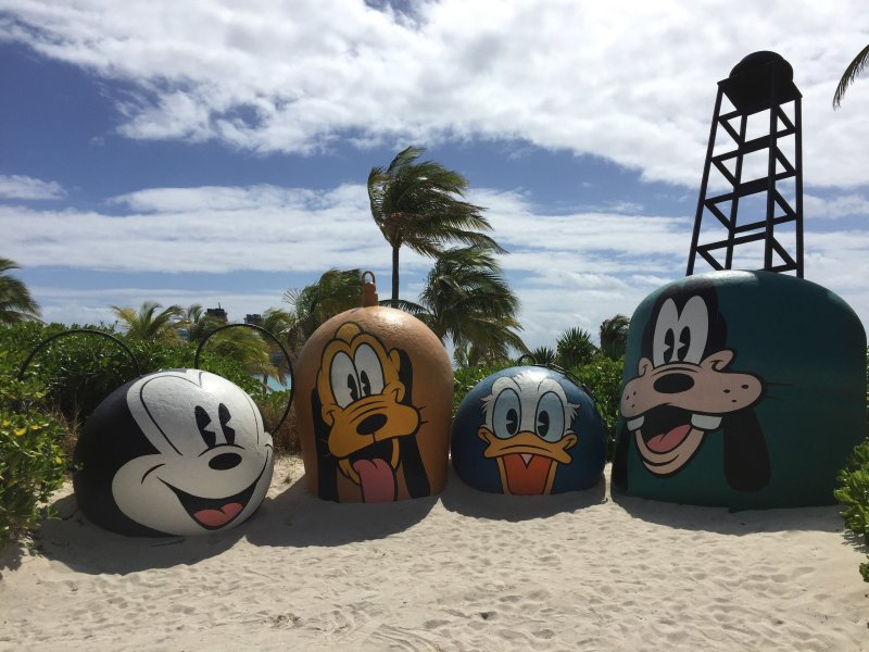 Castaway Cay characters