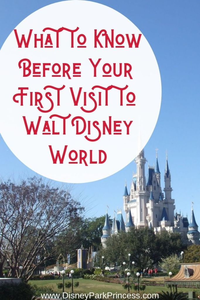 What to Know Before Your First Visit to Walt Disney World