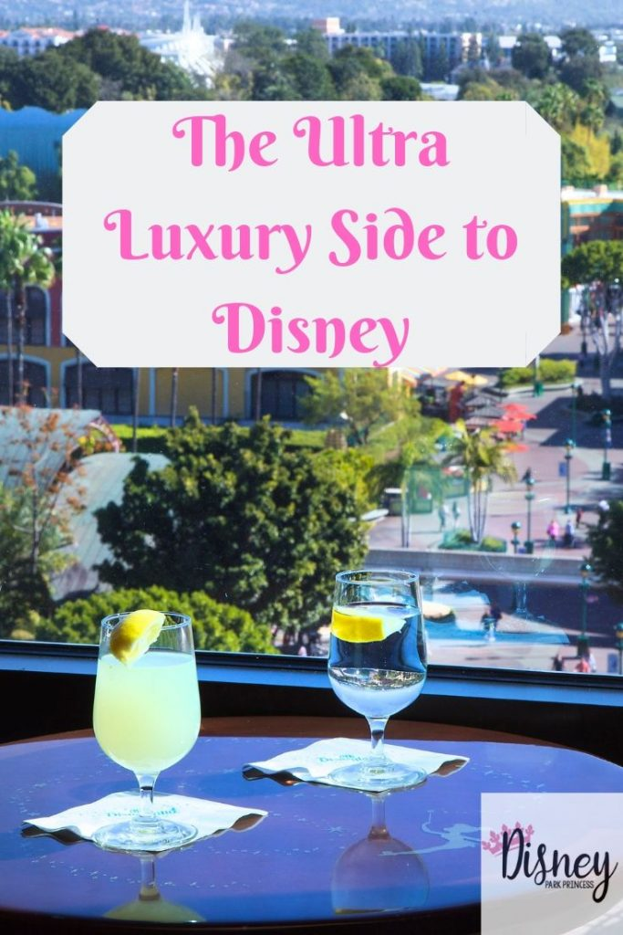 Did you know there are luxury options for your Disney vacation? From huge suites to VIP Tours, and even ultra-exclusive private clubs, it is possible to have a fabulous luxury vacation while visiting the Mouse! #luxurytravel #suites #club33 #disney
