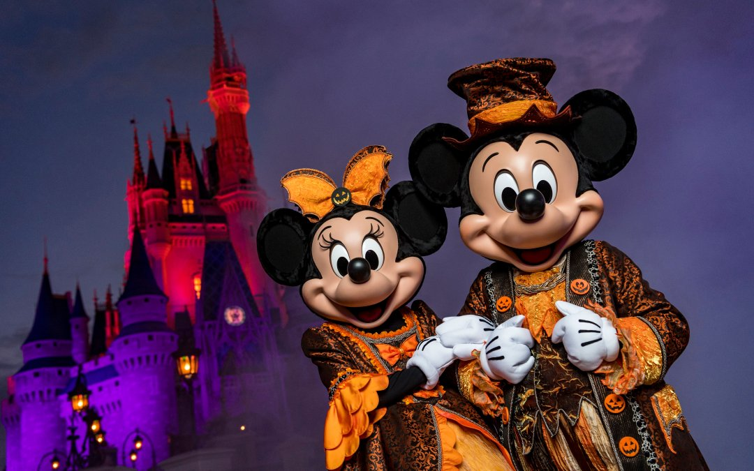 Halloween Walt Disney World Mickey's Not So Scary Halloween Party