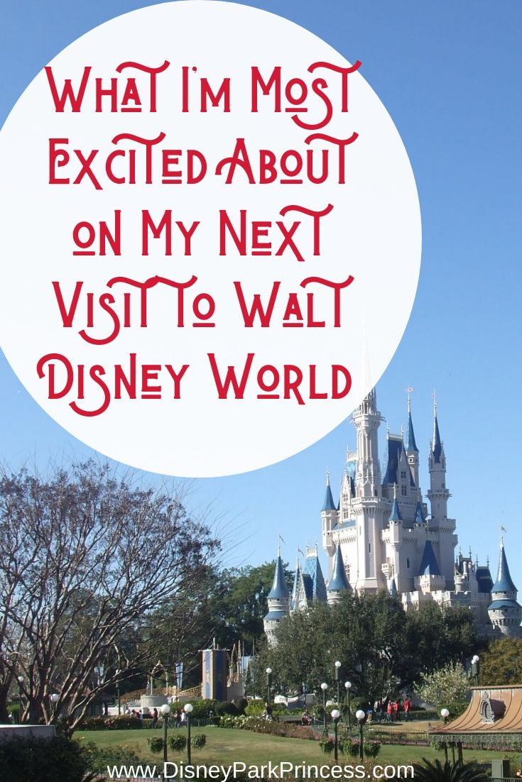What I'm most excited about on my next visit to Walt Disney World. Hint: It's mostly got to do with food! #waltdisneyworld #wdw #disney #epcotfoodandwine