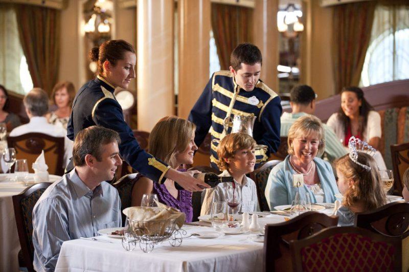 Disney Cruise Line Royal Palace Dining Room Photo courtesy of Disney rotational dining