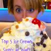 Top Five Ice Cream Spots at Walt Disney World #icecream #waltdisneyworld #beachesandcream #amplehills
