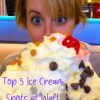 Top Five Ice Cream Spots at Walt Disney World #icecream #waltdisneyworld #beachesandcream #amplehills