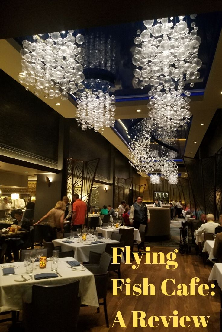 Come with us as we dine at Disney's Flying Fish Cafe at Walt Disney World! #waltdisneyworld #seafood #flyingfish #disneyfood #restaurantreview #disney