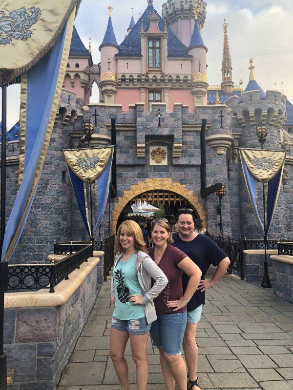Disneyland Sleeping Beauty Castle