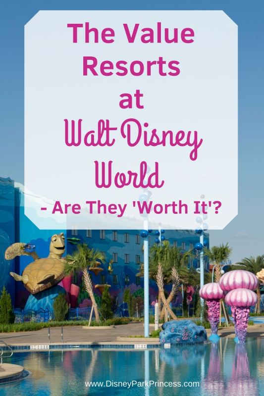 The Value Resorts at Walt Disney World are an attractive choice for families. But are they worth the price? Find out! #waltdisneyworld #disneyvalueresorts #worthit #familytravel
