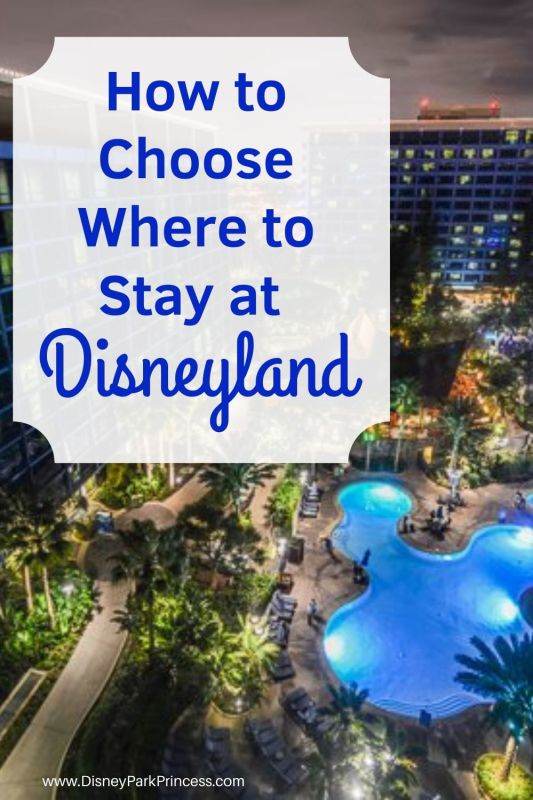 Choosing a hotel at Disneyland is an important part of the planning process! Learn the differences between off-site Good Neighbor hotels and the on-site Disneyland resorts. #disneyland #disneylandhotels #goodneighborhotels #grandcalifornian #paradisepoer #disneylandhotel