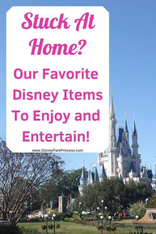 Stuck at home? Here are some of our favorite Disney items from Amazon to help keep you busy and entertained!