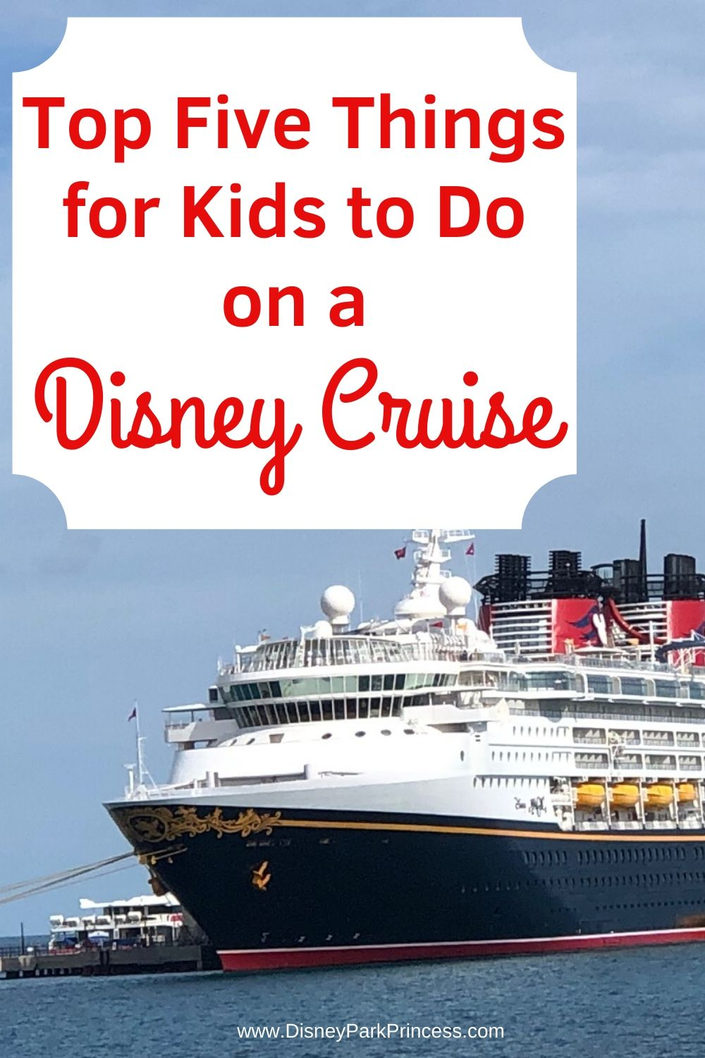 Kids can really let loose and be themselves onboard a Disney Cruise. Here are just a few fun things that kids can do on Disney Cruise Line.