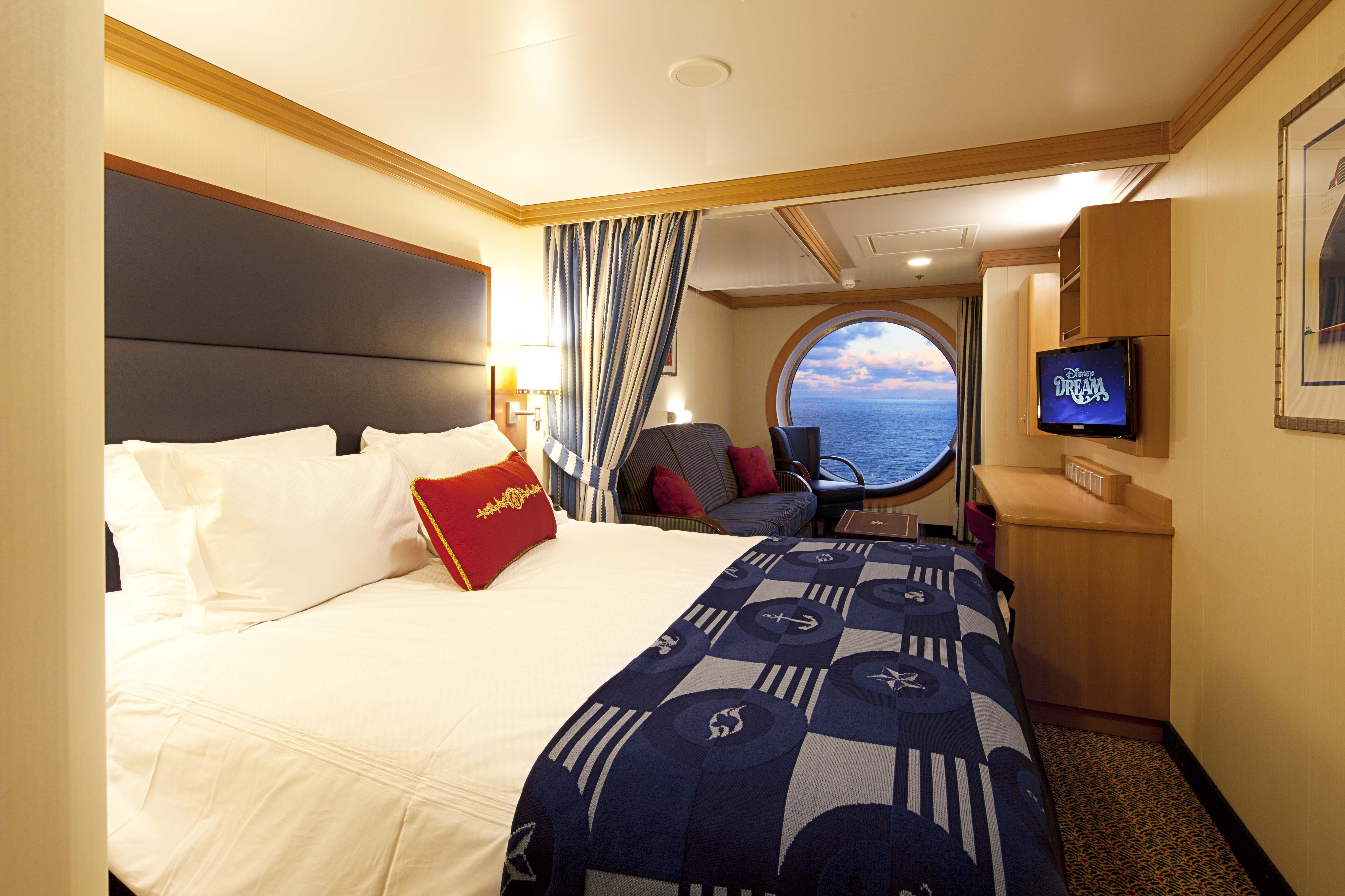 disney dream sofa bed leather with dual recliner fantasy and stateroom fact sheet cruise line news