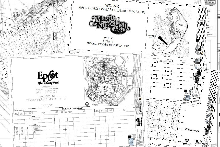 Walt Disney World Files New Permits for Tron and