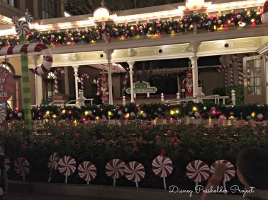 Candy Cane Garden 2 - Christmas at Magic Kingdom