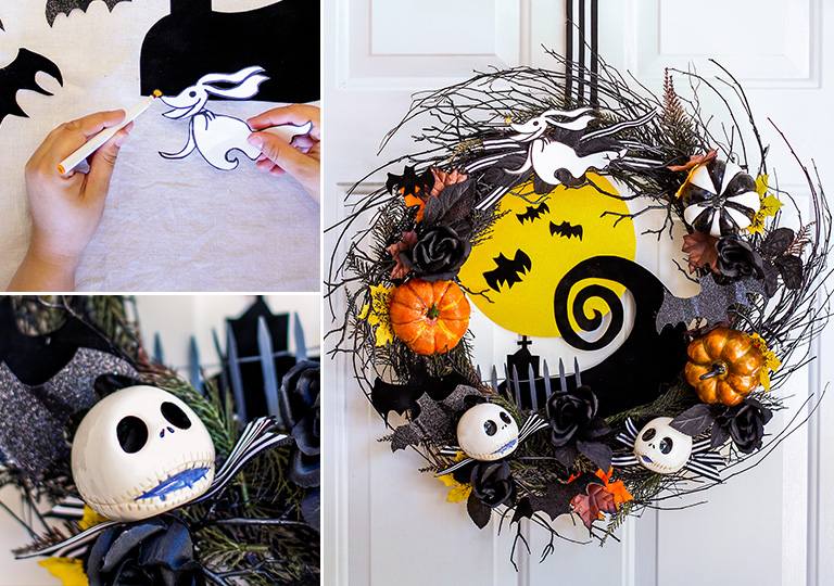 3 Disney® Halloween Wreath DIYs | Disney® Credit Cards