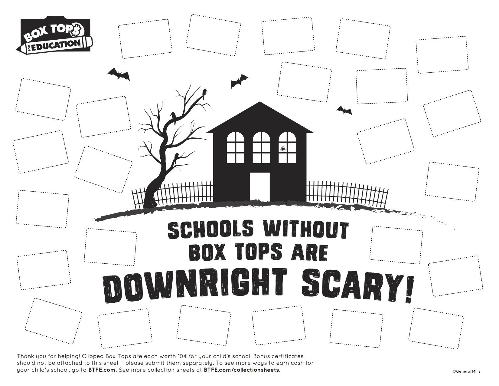 Box Tops Deadline is October 31!