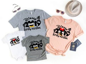 20 Unique And Hilarious Disney Family Shirts Disney Trippers