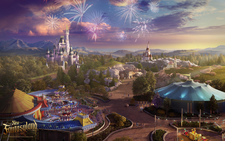 1440p Fall Wallpaper New Fantasy Fireworks Big Disneyways
