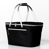 Black Collapsible Market Basket  Create-A-Gift- Disney ...