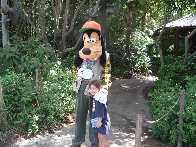 Goofy Camp Minnie and Mickey Animal Kingdom Vacation Pictures Disney World Live Suchart Family