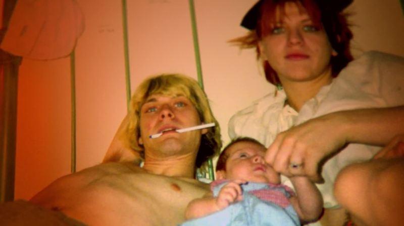 Kurt, Courtney and Frances