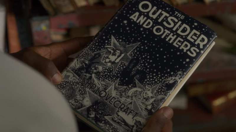 the outsider book by Lovecraft