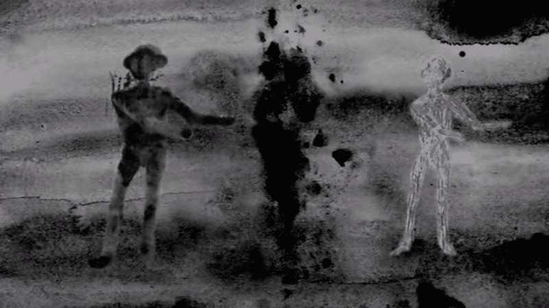 still from a music video by david lynch