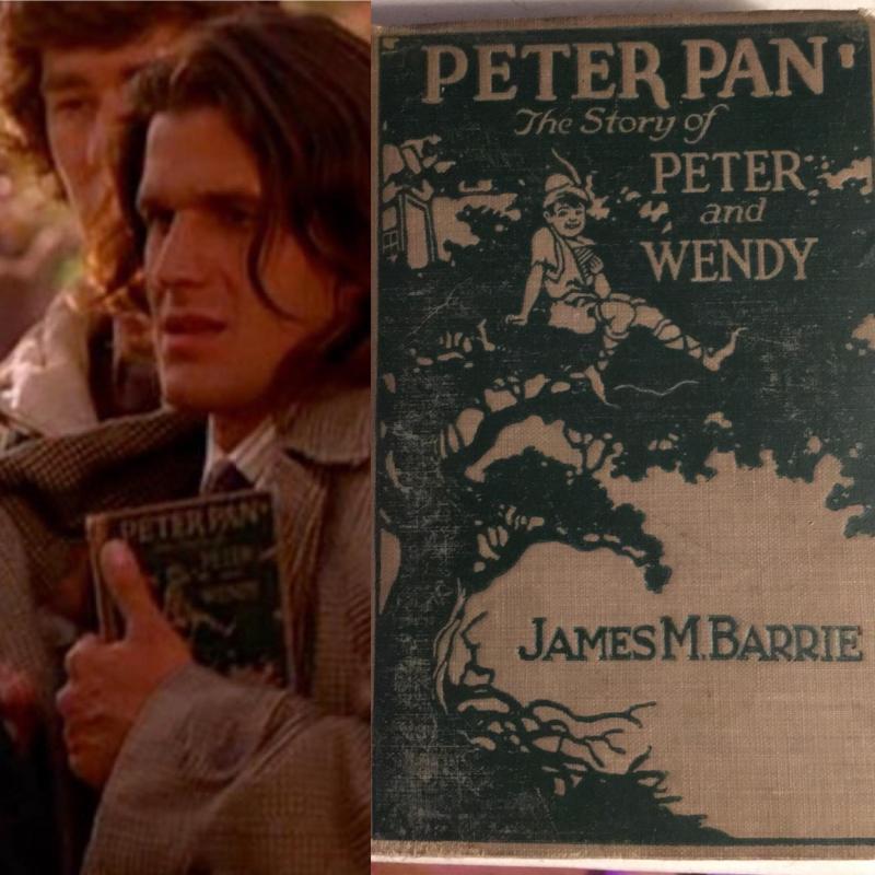 Johnny Horne Peter Pan book