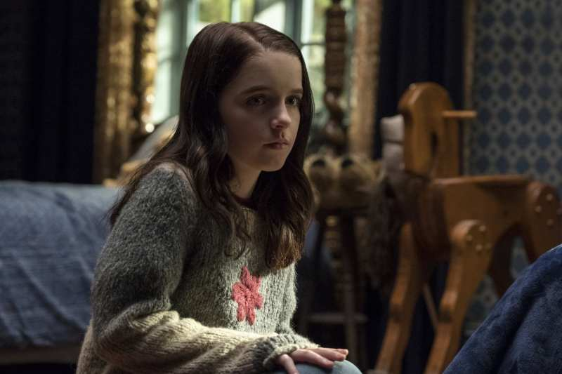 young Theo Haunting of Hill House