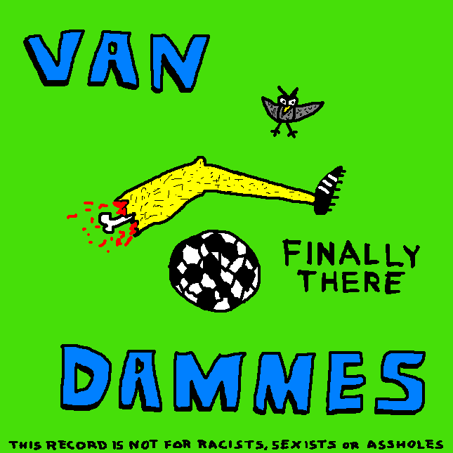 Van Dammes - Finally There - cover