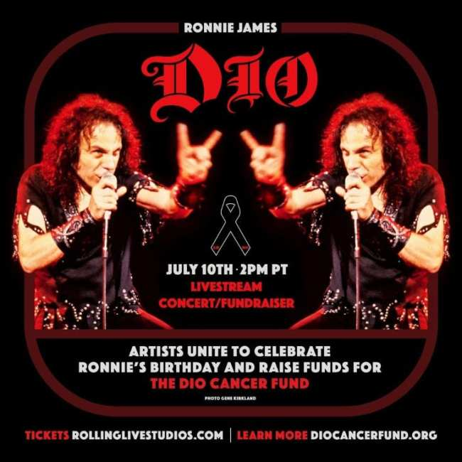 Stand Up and Shout for Ronnie James Dio's Birthday
