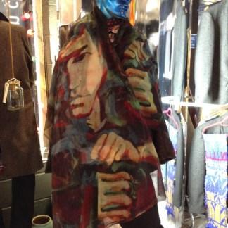 Bruce lee silk scarf