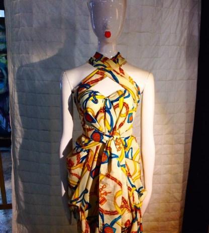 disorder halterneck dress