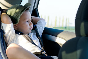 Our Tampa personal injury lawyers remind parents to never leave their babies alone inside a hot car.
