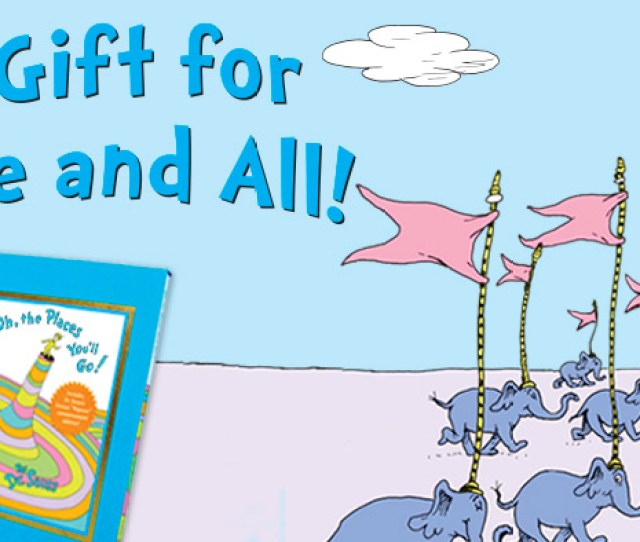 Dr Seuss The Perfect Gift For Graduates One And All