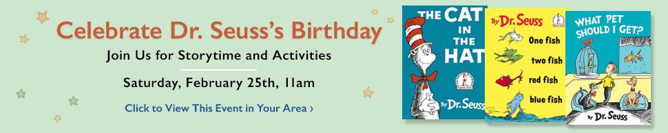 Dr. Seusss Birthday