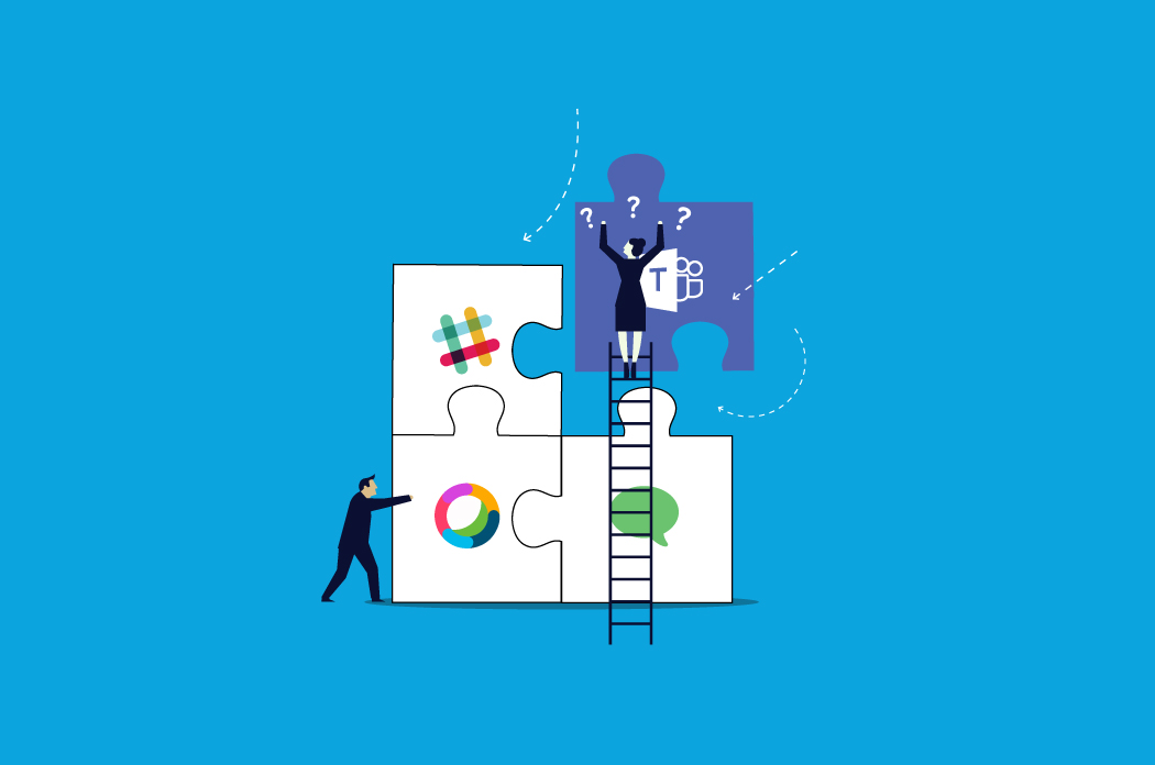 How will you handle Slack, Microsoft Teams or Cisco Webex Teams after a company merger?