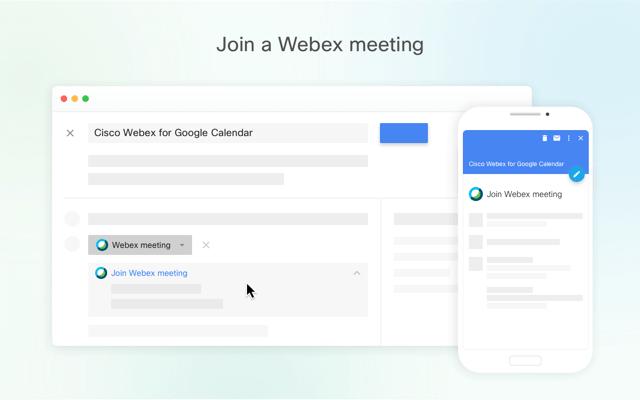 Webex Meeting Google Calendar interoperability