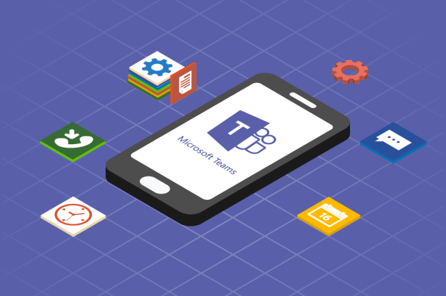 Microsoft Teams is one app that can help reduce workplace silos