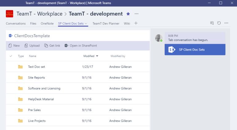 Microsoft-Teams SharePoint
