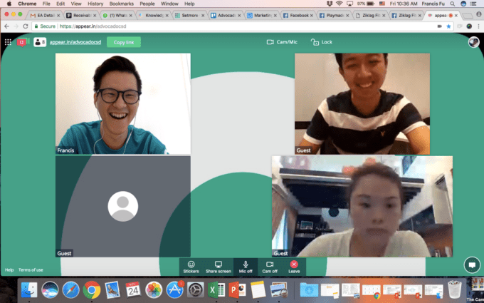 appear.in concludes the meeting-first Skype for Business alternatives