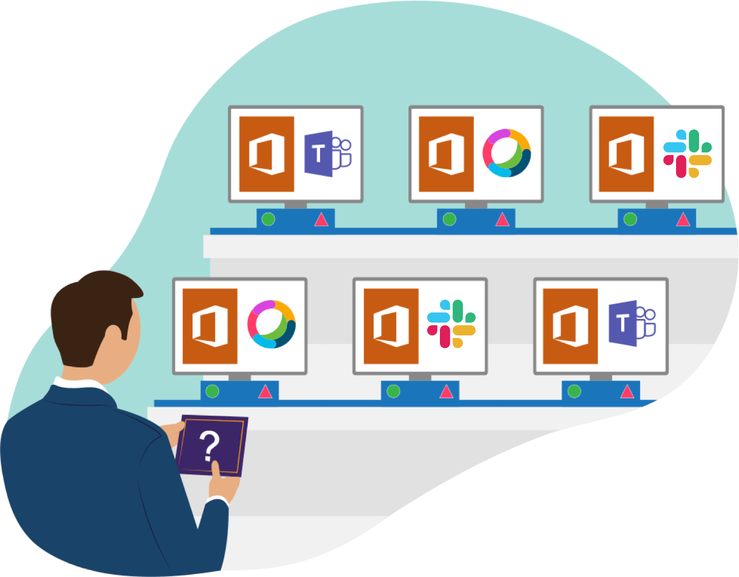Microsoft Office 365 is used by 89% of businesses
