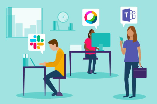 Real life stories of multiple platform usage with Slack , Microsoft Teams, and others