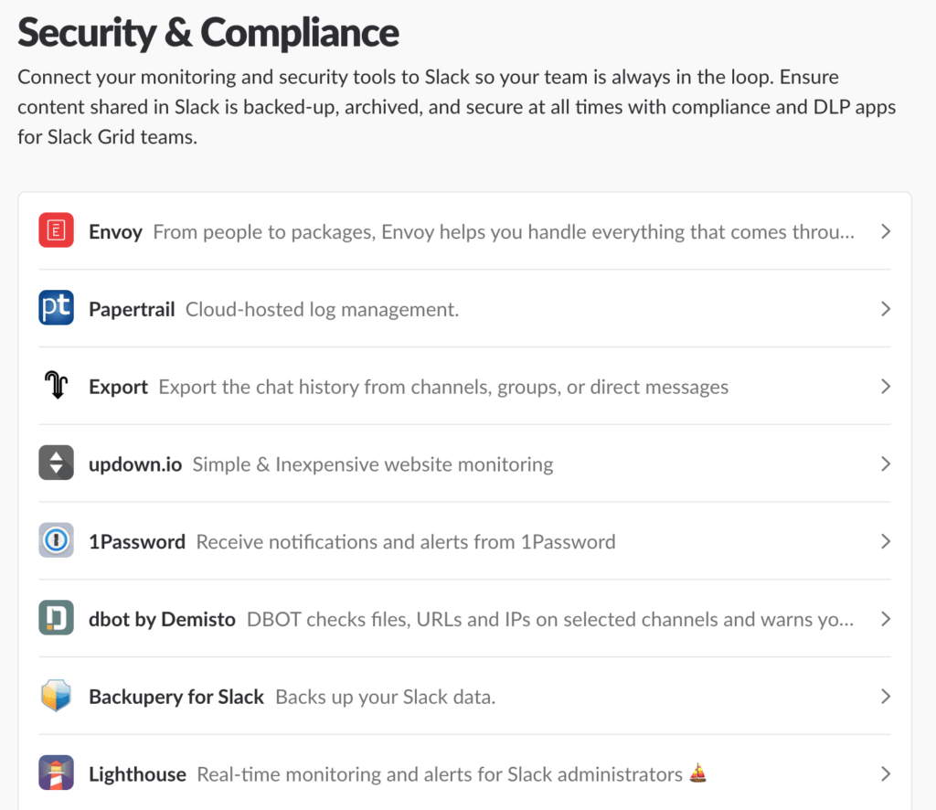 Security & Compliance